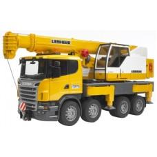 Scania Liebherr Crane Truck (03570)